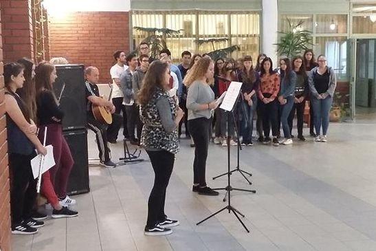 Zene világnapja a Bibó-gimnáziumban