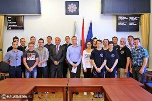 Sportolókat köszöntött a polgármester