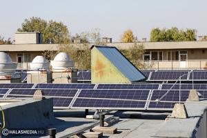 Újabb napelemes fejlesztési projekt zárult a halasi kórházban