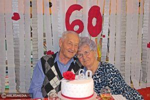 Hat évtizede boldogságban, szeretetben