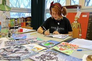"""""""A rajzaim mindig tükrözik a hangulatom"""