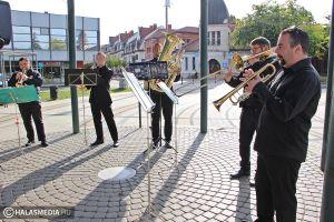 Múltidézés a Pannon Brass Quintett jóvoltából