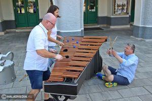 Ütős koncert a Percussion Project Pécs tagjaival