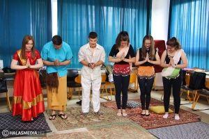 Különböző nemzetek színeiben versenyeztek a bibósok