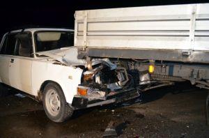 Lada és egy kisteherautó ütközött az 53-as főúton