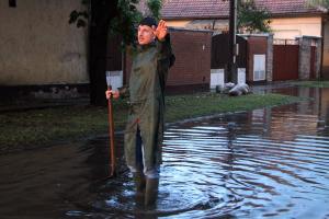 (►) Extrém mennyiségű eső esett Halason