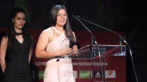 Fenyvesi Evelin az év női labdarúgója