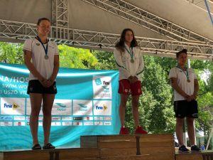 Luca ezüstérme a nyíltvízi országos bajnokságon