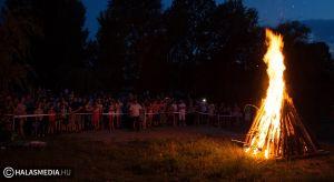 Szent Iván éjszakája a Sóstó partján