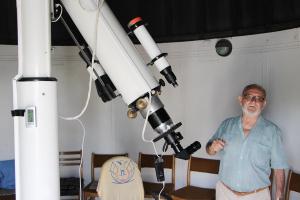 Magyarországon egyedülálló napteleszkóp
