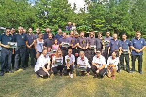 Halasi sikerek a hagyományőrző tűzoltóversenyen