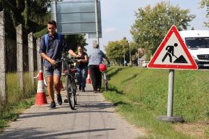 Felújítják a belterületi kerékpárutat (galéria)