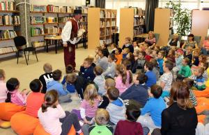Gyermekbarát könyvtár