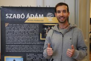 Ádám, a világutazó kerékpáros (galéria)