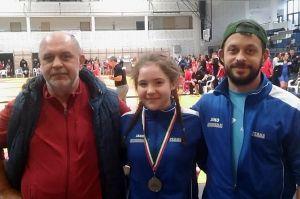 Sára ezüstérmes a diákolimpián