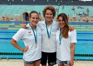 Mindhárom úszónk nyert aranyat