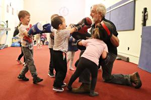 Népszerű az ovis boksz Halason (galéria)