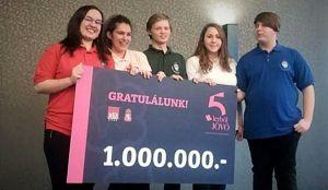 Ez igen: vállalkozói versenyt nyertek a sziládys diákok