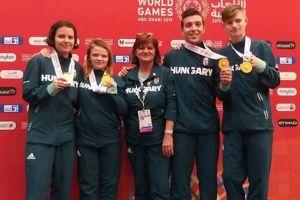 Péter Dávid aranyérmes a speciális olimpián