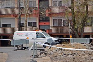 Csatornajavítás miatt zárva a Thorma utca