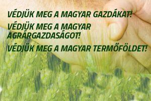 Petíció a magyar gazdákért