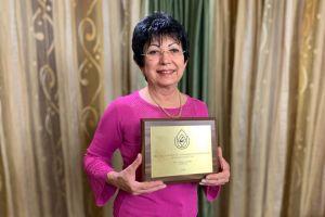 Rangos díjat kapott dr. Huri Anikó