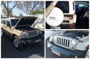 Körözött Jeep Tompán