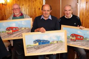 Nyugdíjas  mozdonyvezetők találkozója Halason (galéria)