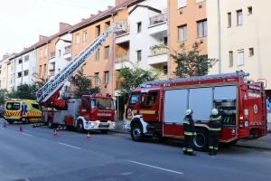 Nagy füst miatt hívtak tűzoltókat a Kossuth utcára (galéria)