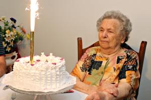 Julka néni 90. születésnapja