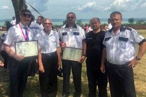 Kiskunhalas elismerése az Országos Polgárőr Szövetségtől