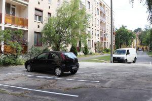 Parkolóbővítés az Erdein