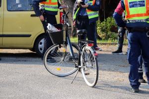 Kerékpáros-baleset a Szilády Áron utcán