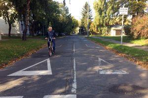 Figyelmesen közlekedjenek a Bokréta utcában!
