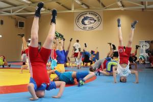 Regionális edzőtábor volt az új birkózócsarnokban (galéria)