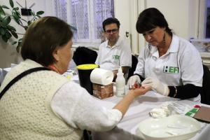 Cukorbetegség világnapja a MÁV Szakiban