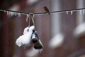 Áramszünetek a vezetékek jegesedése miatt