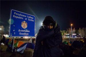 Elvitték a migránsokat a szerb hatóságok, megnyitották a határátkelőt