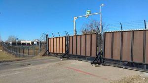 Egy órára lezárták a tompai átkelő teherforgalmi kapuját