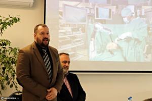 A halasi kórházé az ország első sebészeti robotasszisztense (galéria)