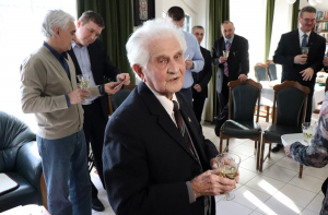 A 95 éves F. Nagy Józsefet köszöntötték
