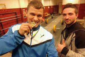 Szalai Róbert aranyérme az emlékversenyen