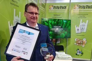 A halasi Poly-Pack kapta a nemzetközi kiállítás termékdíját
