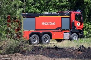 Tűz keletkezett a halasi regionális hulladéklerakóban