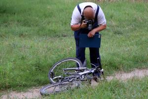Kerékpáros gyermek sérült meg a volt orosz lőtéren
