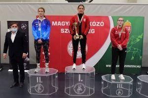 Felhő Viktória ezüstérme a magyar bajnokságon