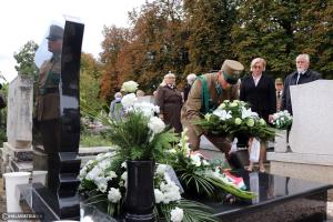 Felavatták Krizsán Mihály síremlékét (galéria)