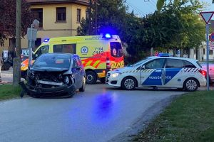 Opel és Citroën ütközött