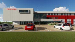 A Modinvest Kft. építi az új kecskeméti tűzoltólaktanyát