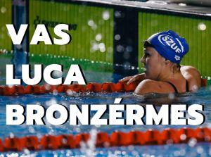 Vas Luca bronzérmes lett a felnőtt országos bajnokságon